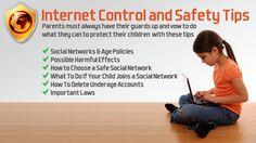 This site is for parents. It gives tips on controlling their children's internet access and it gives safety tips.