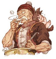 Gohan and Goku Dragon Ball Z, Dragon Z, Akira, Dbz, Milk Y Goku, Blade Runner, Manga Anime, Anime Art, I Love Anime