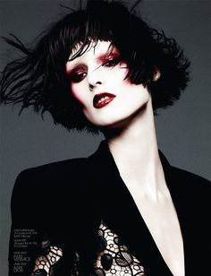 Marie Piovesan Poses for Ben Hassett in Interview Germany's May Issue