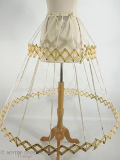 40s/50s Belle o'the Ball Collapsible Hoop Crinoline