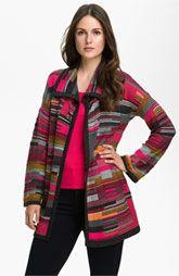 Nic + Zoe 'Puzzle' Knit Jacket