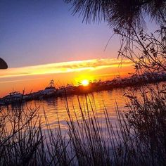 Sunsets at Marina Bar & Grill at Sandestin are amazing.