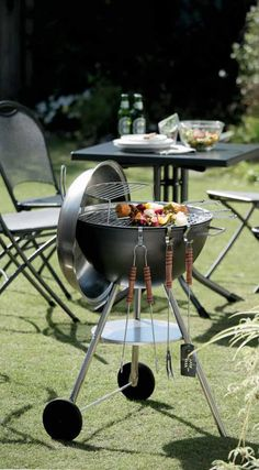 BBQ.. fire up the grill , grab a game of horseshoes and call a few friends