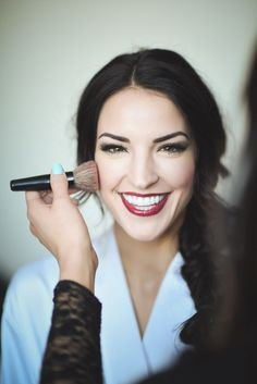 There's no doubt that you'll be a blushing bride on your big day, make sure to get snaps of you getting dolled up and ready to go meet your husband-to-be!