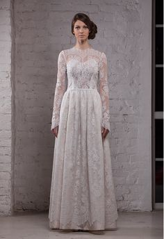 Absolutely gorgeous modest wedding dress! Elizabeth dress | Katya Katya Shehurina