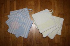 selbst genähte Abwaschtücher aus alten Handtüchern Abwaschtücher - Spültücher - Anleitung - Tutorial - Upcycling