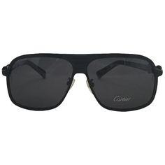 Cartier Black Men Sunglasses