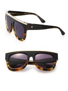 27434b4665b2c DAX GABLER Oversized Rectangular Tortoise Shell Sunglasses.  daxgabler   sunglasses Tortoise Shell Sunglasses