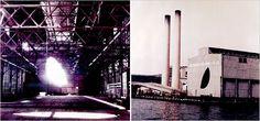 day's end- gordon-matta-clark- 1975- anarchitettura-decostruttivismo-principi vitruviani-scultura-video-foto-performance- modifica magazzino industriale per farlo diventare una cattedrale di luce-tagli a forma di occhio di gatto- innalza culturalmente il degrado creando rosoni- taglio nel tetto e pavimento facendo intravedere l'acqua poiche la struttura era in un potile-intento di aprire la struttura al pubblico- day's end morte del gemello in qudell'anno, simbolo fine dei giorni.jpg…