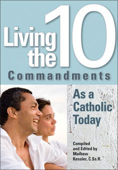 Living the 10 Commandments As a Catholic Today. How do we follow guides written thousands of years ago? In this book, the Ten Commandments are viewed and explained in contemporary language through modern eyes. With reflection questions after each chapter, this book is perfect for small group discussions or personal reflection. To see sample pages, go to http://www.liguori.org/productdetails.cfm?PC=11321