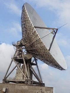 Goonhilly Satellite Earth Station is a large telecommunications site located on Goonhilly Downs near Helston on the Lizard peninsula in Cornwall