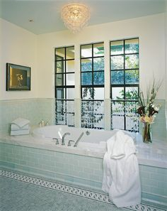 sea glass subway tile