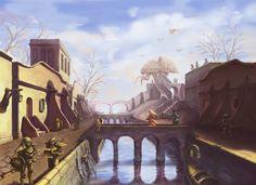 Morrowind Balmora v1_wip? by Saito00.deviantart.com on @deviantART