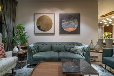The Home For An Industrialist In Hyderabad Living Room Sofa, Home Living Room, Living Room Decor, Apartment Living, Indian Home Design, Indian Home Decor, Flat Interior, Interior Design, Interior Colors