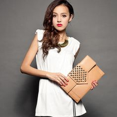 Buy 'CUTIE FASHION – Studded Sleeveless Top' with Free International Shipping at YesStyle.com. Browse and shop for thousands of Asian fashion items from Taiwan and more!