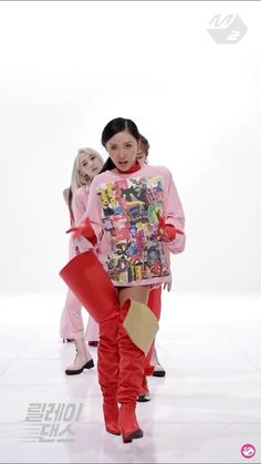 Kpop Girl Groups, Korean Girl Groups, Kpop Girls, Dance Choreography Videos, Dance Videos, Kim Taehyung Funny, Bts Jungkook, Blackpink Fashion, Korean Fashion