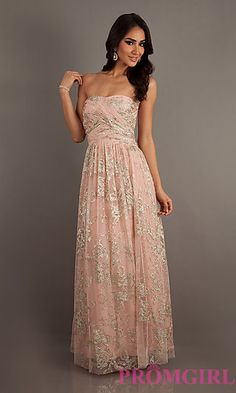 Pink Strapless Prom Gown by Blush 9348 | Prom, Gowns and Teen usa