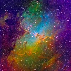 M16 Eagle Nebula Mapped Color - March 2011 | Flickr - Photo Sharing!