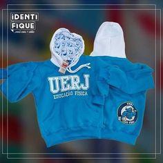 A UERJ está mais azul e quentinha com os novos moletons da galera de Educação Física