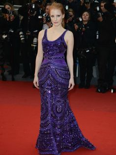 Jessica Chastain in Givenchy....