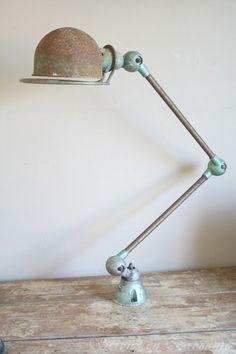 Jielde lamp/ Jielde lamp | Sold | Servies & Brocante