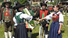 Südtiroler Schützenbund•Aktuellbericht|Pustertaler Bezirksschützenfest in Taisten