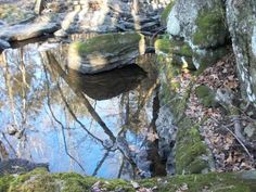 Out your back door, the streams and water flows in the #Poconos