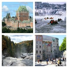 TICs en FLE: Partez à la découverte du Québec ! : ressources pédagogiques Montreal, Canada, Fle, Children