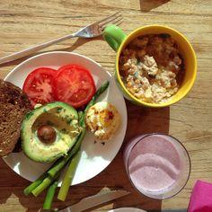 No me cansaré nunca de compartir desayunos ¡no hay mejor comida!