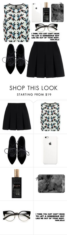 """Stars"" by electric-hearts ❤ liked on Polyvore featuring Alexander Wang, Tanya Taylor, Alaïa and Casetify"