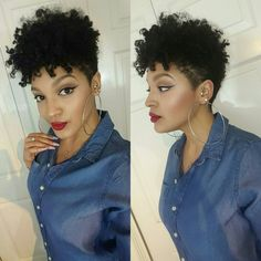 Résultat d'images pour Tapered TWA Natural Hair Hair Cut Natural Short Cuts, Tapered Natural Hair Cut, Tapered Twa, Short Hair Cuts, Tapered Natural Hairstyles, Curly Hair Styles, Natural Hair Styles, Twa Hairstyles, Haircuts