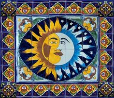 hand painted tiles: mexican mural - Mexican Tile - kitchen ...