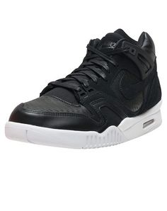 reputable site 7b902 2d4ed NIKE Air Tech Challenge IIMid top men s sneaker Lace up closure Padded  tongue with NIKE logo