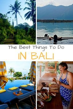 Plan your trip to Bali, Indonesia with this list of best activities, things to do, places to stay, and where to eat.