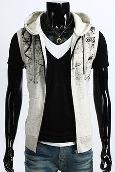 Vest Paris (Krem) - Rockdenim - $499nok Vests, Leather Jacket, Paris, Jackets, Fashion, Studded Leather Jacket, Down Jackets, Moda, Fashion Styles