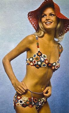 Vintage swim: Burda Moden, March 1971