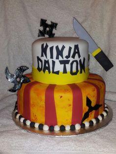 Ninja cake     Facebook.com/terrycakessparks