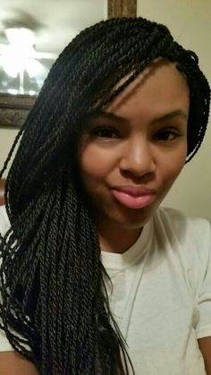 Sengalese Twist #protectivestyle. Great winter hair