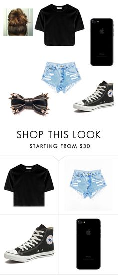 """👌"" by alyssaandilovewwe ❤ liked on Polyvore featuring Converse"