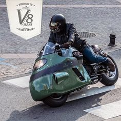 Vanguard Moto Guzzi V8 // Design by Gannet Design // Custom Made by Numbnut Motorcycles for Vanguard Clothing