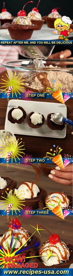 Brownie bowls for ice cream our pinterest feeds are littered with unusual tempting recipes but we ve all produced some pinterest fails our la being the