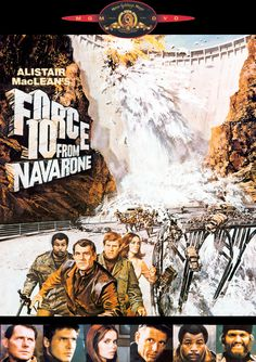 """*m. DVD cover for """"Force 10 From Navarone"""" (1534x2174 pixels)"""