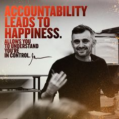 daily motivation Gary vee Daily Motivation, Fitness Motivation, Qoutes Of The Day, Pursuit Of Happiness, Gary Vaynerchuk, Gary Vee, Motivational Speeches, Mother Teresa, Growth Mindset