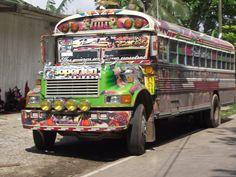 Buses to Portobelo, Panama
