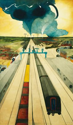 Approaching Storm, 1968-69 by Edward Burra (British 1905-1976)