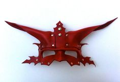 Destroyer Leather Mask by mrhydesleather on Etsy