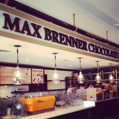 Max Brenner Chocolate Bar in Moscow!
