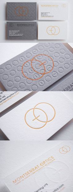 Elegant And Understated Textured Letterpress Business Card Design For An Optician Letterpress Business Cards, Embossed Business Cards, Business Branding, Business Card Maker, Business Card Design, Corporate Business, Elegant Business Cards, Custom Business Cards, Cool Business Cards
