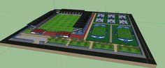 Sport center (skpSketchUp)