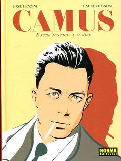 Albert Camus, entre justice et mère - José Lenzini Albert Camus, Jean Paul Sartre, Music Covers, Album Covers, August Strindberg, Ligne Claire, Celebrity Portraits, Aesthetic Pictures, Love Of My Life